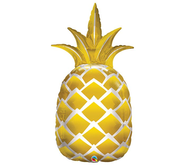 "44"" PKG GOLDEN PINEAPPLE BALLOON"