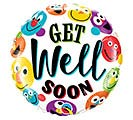 "18""PKG GWS GET WELL SOON SMILEYS"