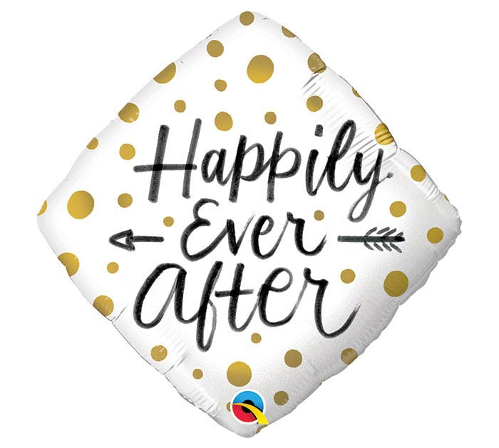 """18""""PKG HAPPILY EVER AFTER"""