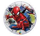 "22"" PKG SPIDER-MAN BUBBLE BALLOON"