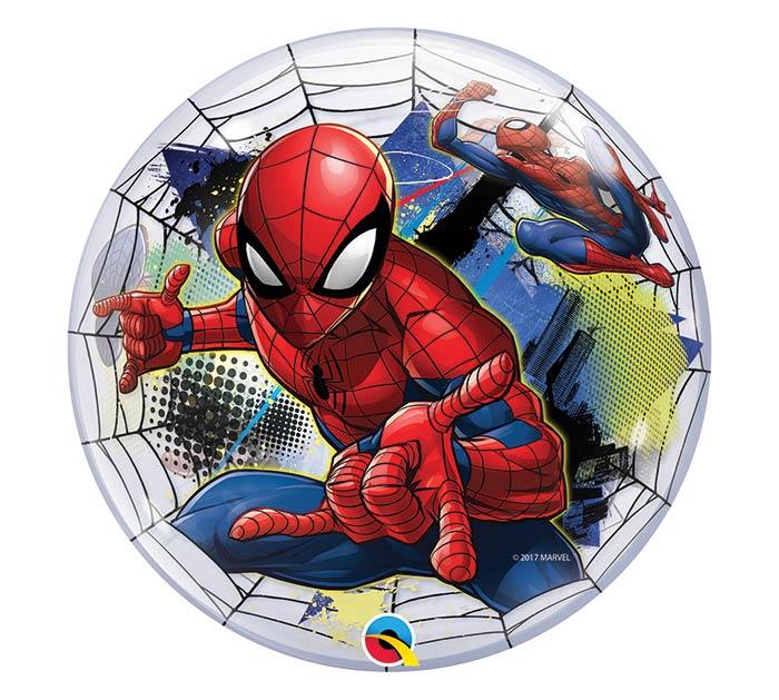 "22""PKG SPIDER-MAN BUBBLES BALLOON"