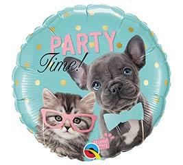 """18""""PKG PARTY TIME PETS STUDIO PETS"""