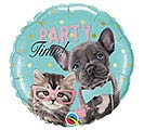 "18""PKG PARTY TIME PETS STUDIO PETS"