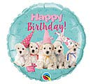 "18""PKG BIRTHDAY PUPPIES STUDIO PETS"