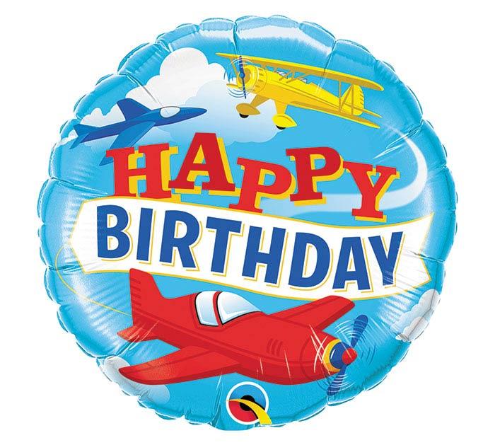"18""PKG BIRTHDAY AIRPLANE"