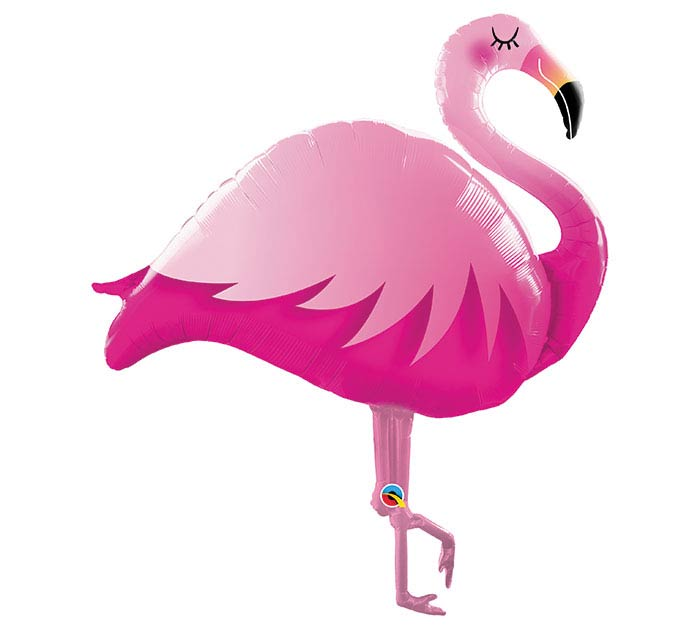 "46""PKG PINK FLAMINGO SHAPE"