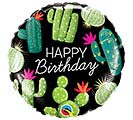 "18""PKG BIRTHDAY CACTI BALLOON"