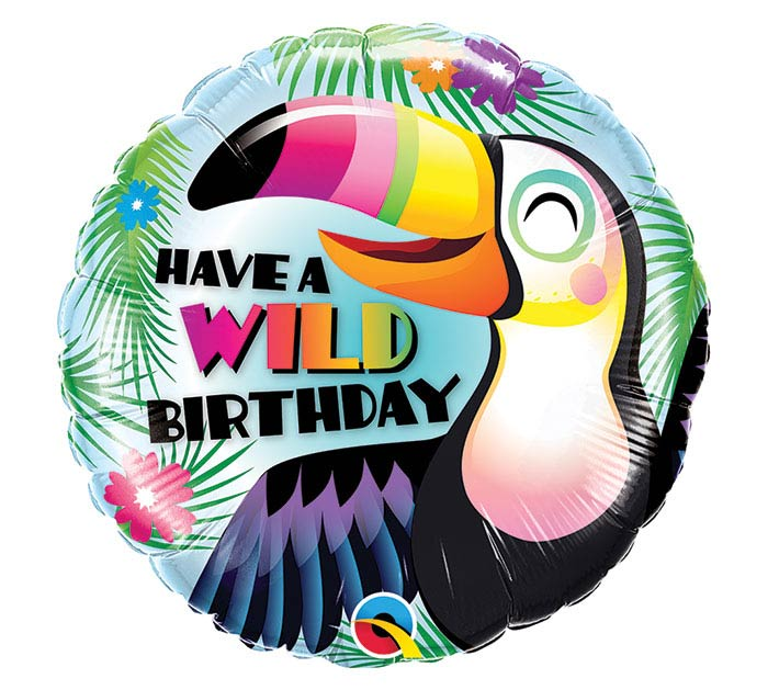 "18""PKG BIRTHDAY TOUCAN BALLOON"