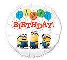 "18""PKG MINIONS BIRTHDAY"