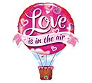"42""PKG LOVE IS IN THE AIR BALLOON SHAPE"