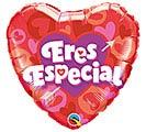"18"" ERES ESPECIAL HEART  ARROW HEART"