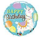 "18""PKG BIRTHDAY LLAMA"