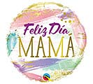 "18"" FELIZ DIA MAMA COLOR SWASHES"