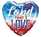 "18"" LAND THAT I LOVE HEART"