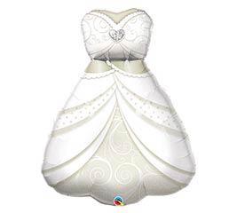 "38""PKG BRIDES WEDDING DRESS SHAPE"