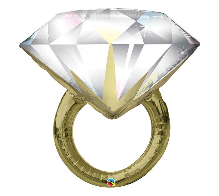 "37""PKG DIAMOND WEDDING RING"