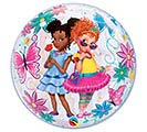 "22"" PKG FANCY NANCY BUBBLE BALLOON 1st Alternate Image"