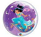"22"" PKG DISNEY PRINCESS JASMINE BUBBLE"