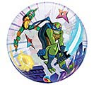 "22""PKG RISE OF THE TMNT BUBBLE BALLOON 1st Alternate Image"