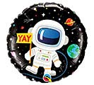 "18""PKG BIRTHDAY ASTRONAUT 1st Alternate Image"