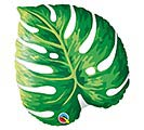 "21""PKG TROPICAL PHILODENDRON LEAF SHAPE"