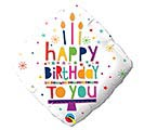 "18""PKG HAPPY BIRTHDAY TO YOU CANDLES"