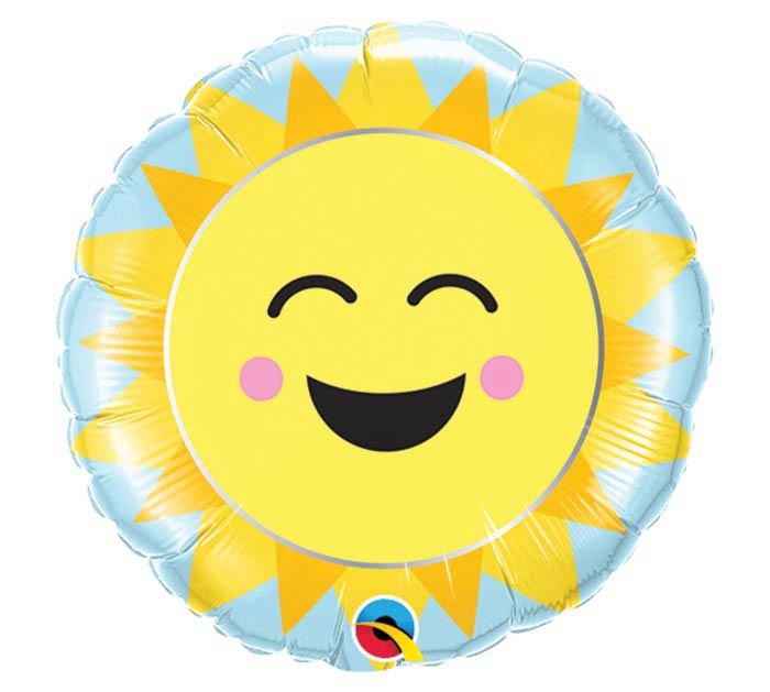 "9""INFLATED SUNSHINE RAINBOW"