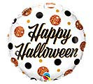 "18"" HALLOWEEN SPARKLY DOTS"