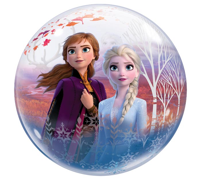 "22""PKG FROZEN II BUBBLE BALLOON"
