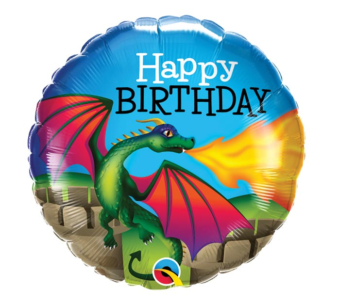 "18""PKG BIRTHDAY MYTHICAL DRAGON"