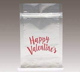 HAPPY VALENTINE'S DAY ZIPPER POUCH