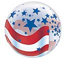 "22""PKG PATRIOTIC BUB 1st Alternate Image"