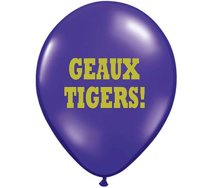 """11"""" GEAUX TIGERS"""