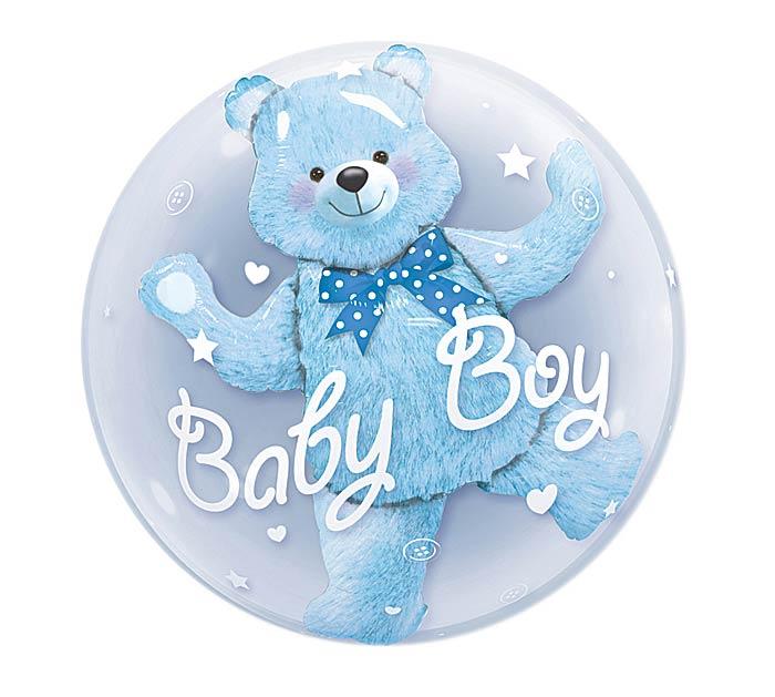 """24""""PKG BBY BLUE BEAR"""