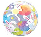 "22"" PACKAGED EASTER BUBBLE BALLOON"