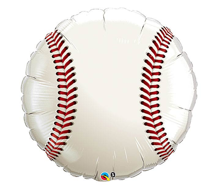 "36"" PACKAGED BASEBALL BALLOON"