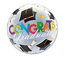 "22"" PKG GRADUATE BUBBLE ONLY 1 AVAIL"