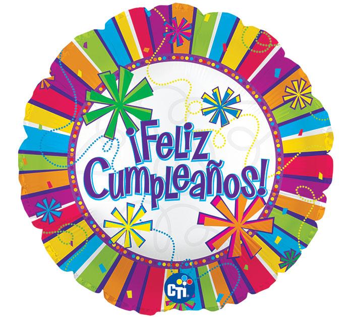 """17""""SPA FELIZ CUMPLEA"""