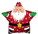 "18"" CHRISTMAS SANTA STAR"