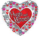 "17"" HUGS AND KISSES"