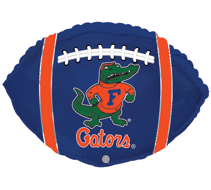 "21"" SPO FLORIDA GATOR FOOTBALL SHAPE"