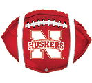 "17"" NEBRASKA HUSKERS BALLOON"