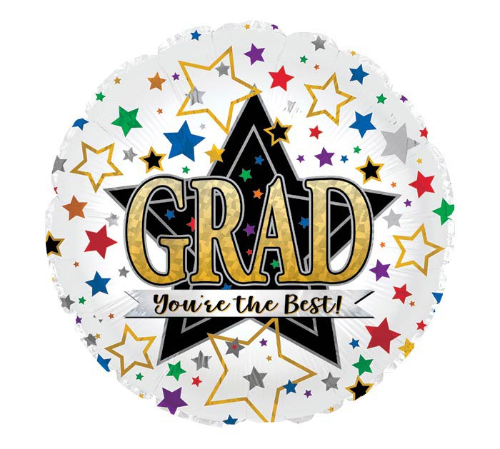 """17"""" GRAD YOU'RE THE BEST"""