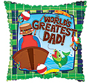 "17""DAD WORLD'S GREAT"