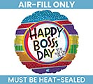 "9""FLAT BOSS'S DAY YOU'RE THE BEST"