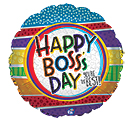 "17"" BOSS'S DAY YOU'RE THE BEST"