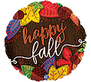 "17""FAL HAPPY FALL LEAVES"