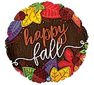 """9""""INFLATED HAPPY FALL LEAVES"""