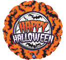"17"" HALLOWEEN BATS AND MOON"