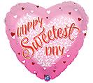 "17""HSD SWEETEST DAY HEART LEAVES"